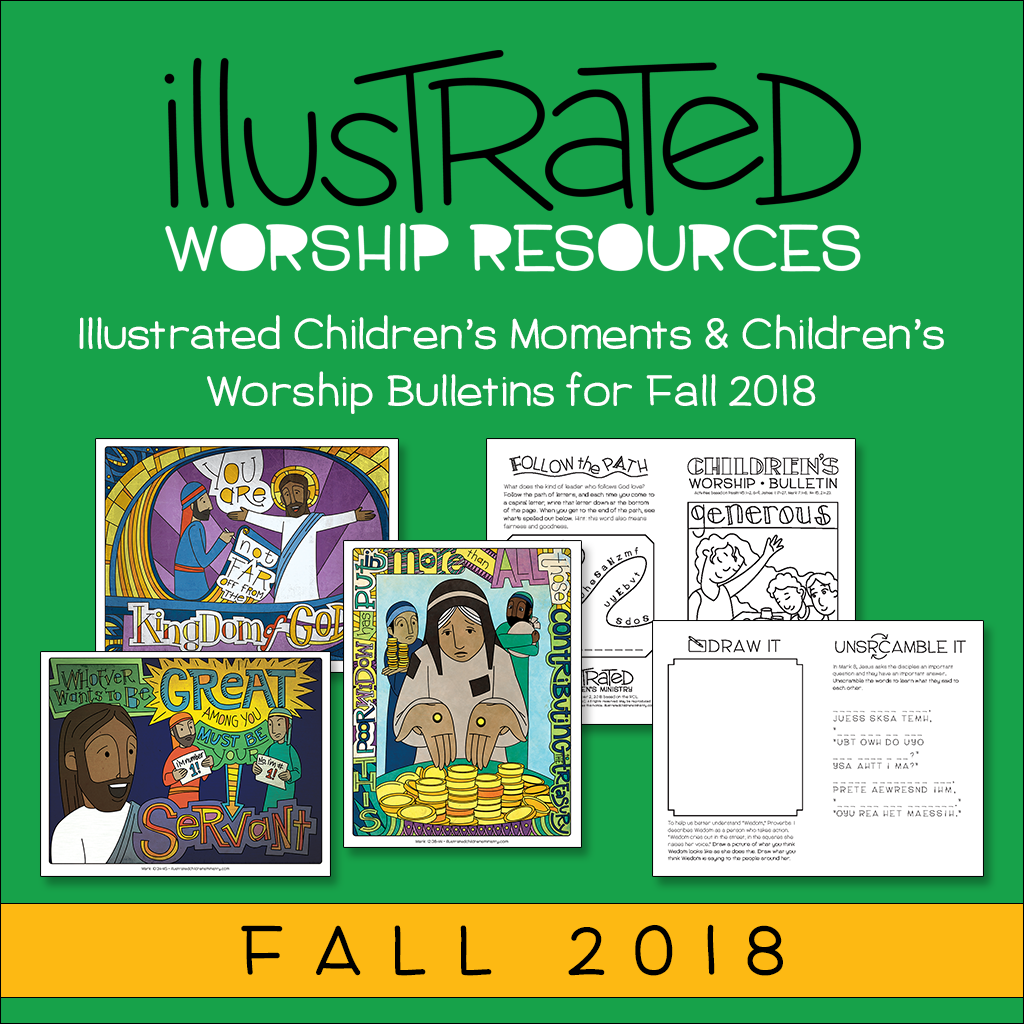 Illustrated worship resources - Fall 2018