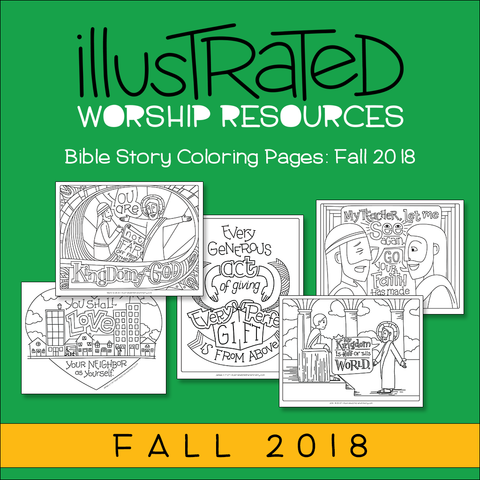 Bible Story Coloring Pages: Fall 2018