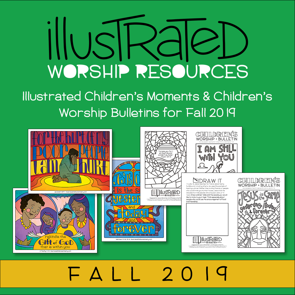 Illustrated worship resources - Fall 2019