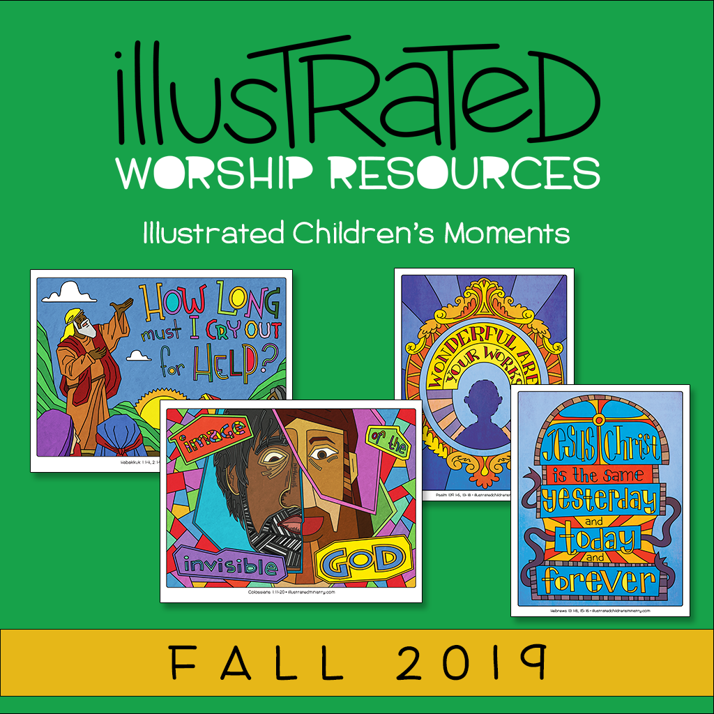 Illustrated children's moments - fall 2019