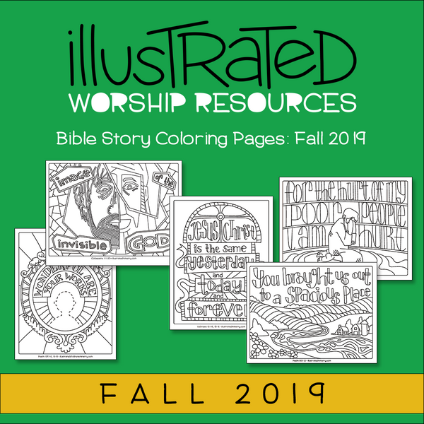 Bible Story Coloring Pages: Fall 2019
