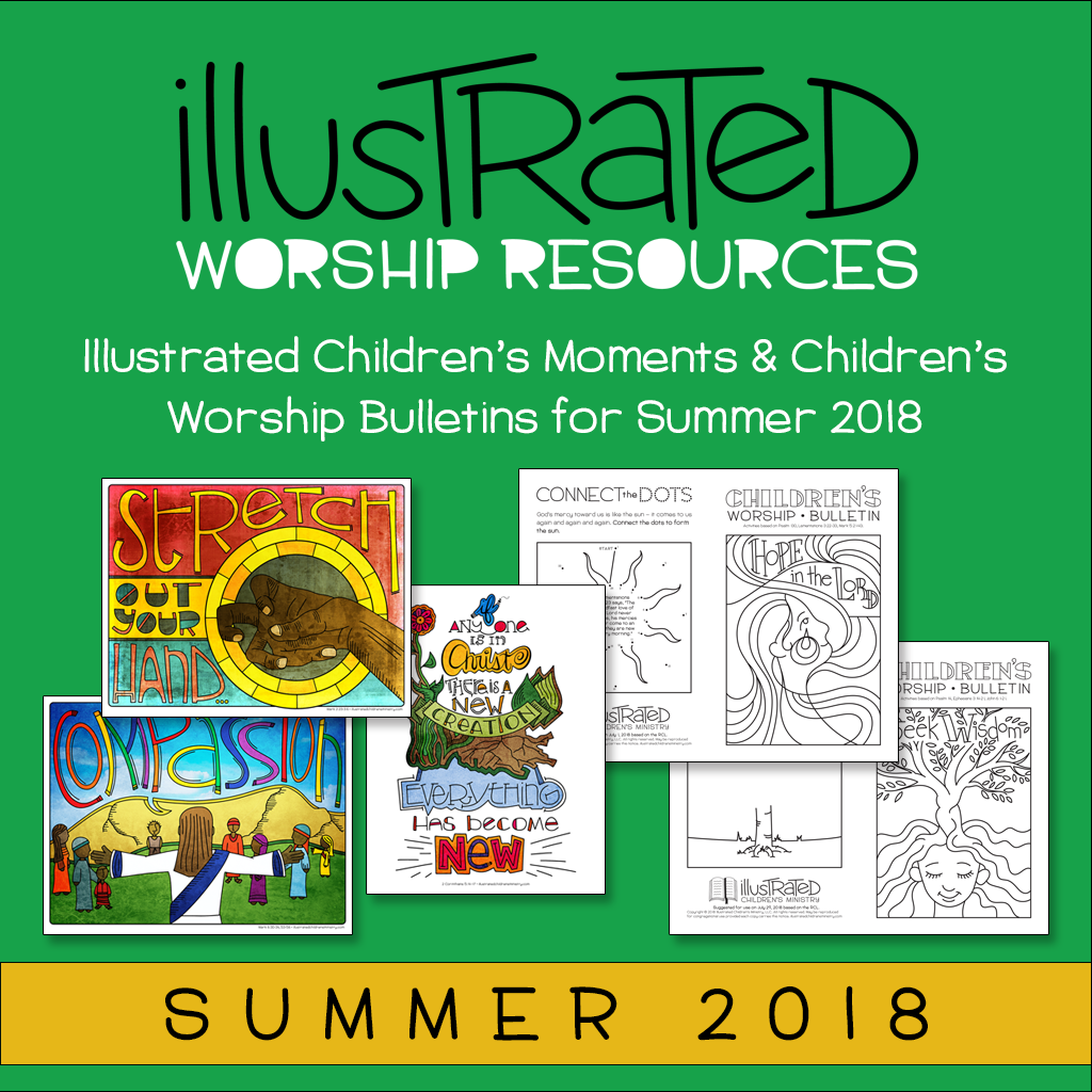 Children's moments and bulletins - Summer 2018