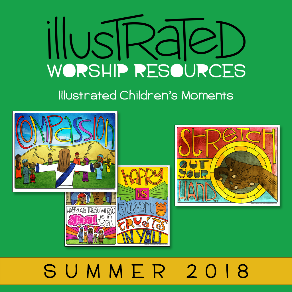 Illustrated children's moments - Summer 2018