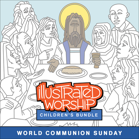 World Communion Sunday Children's Worship Bulletin