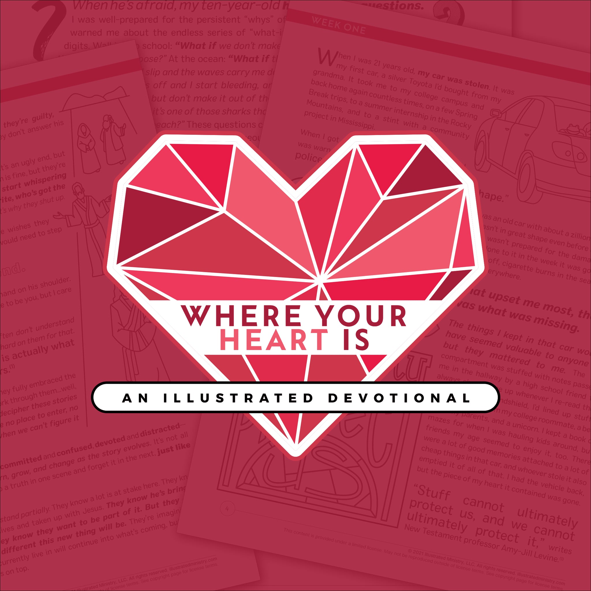 Where Your Heart Is: An Illustrated Devotional