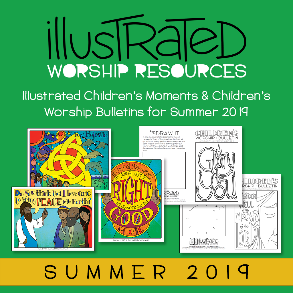 Illustrated Children's Moments and Bulletins - Summer 2019