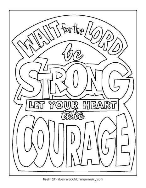 Bible Story Coloring Pages Spring 2019 Illustrated