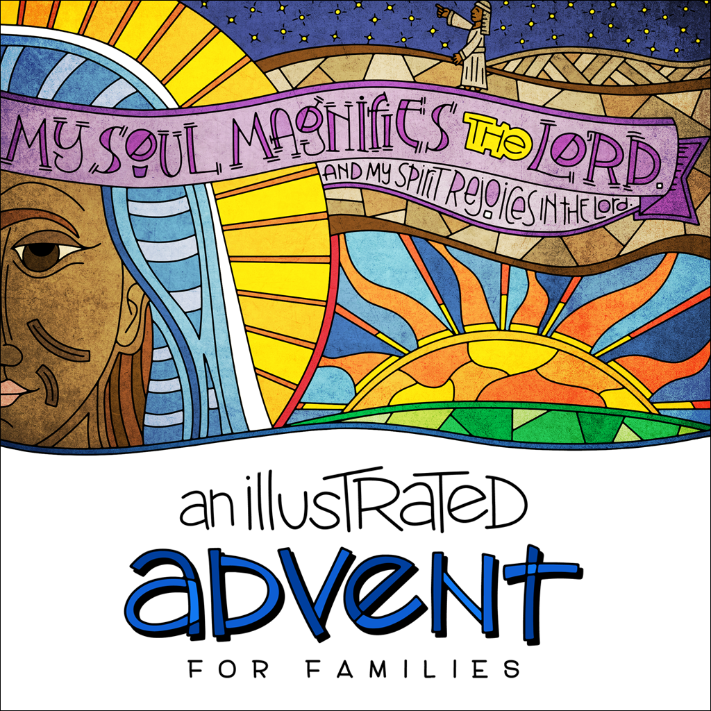 An Illustrated Advent for Families
