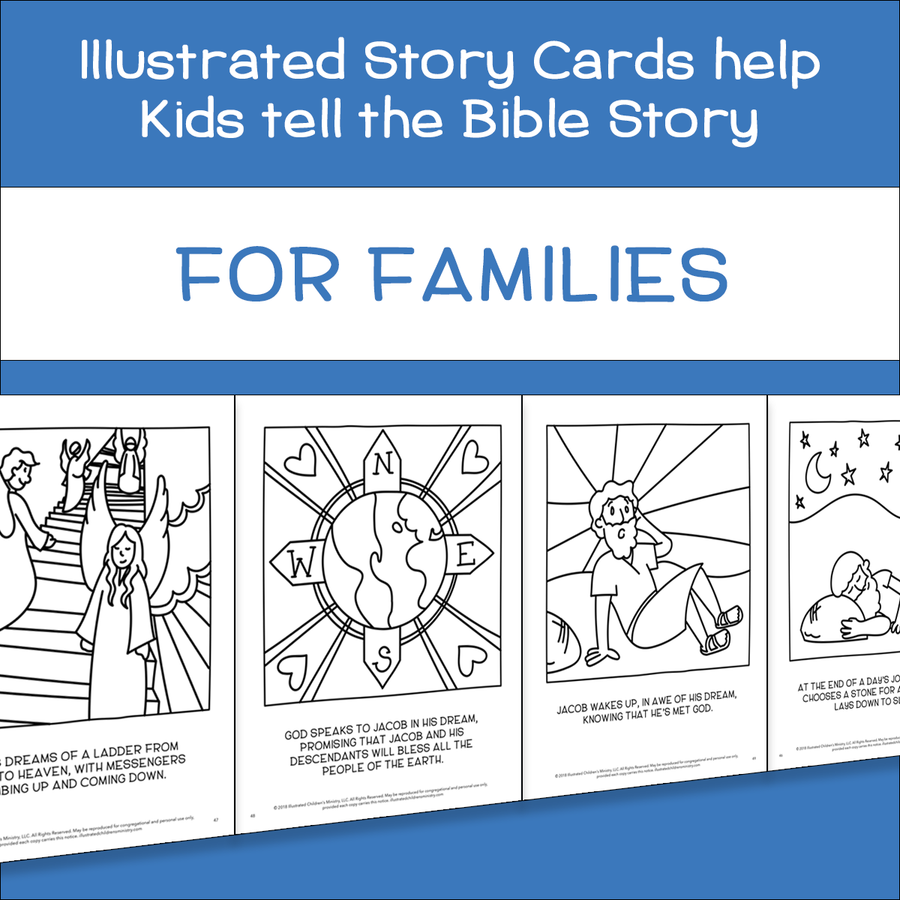 An Illustrated Invitation for Families - Devotional Materials