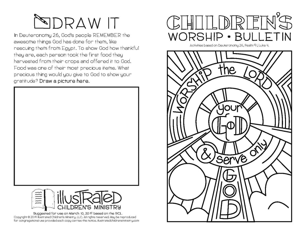 Illustrated Worship Resources for Children's Ministry