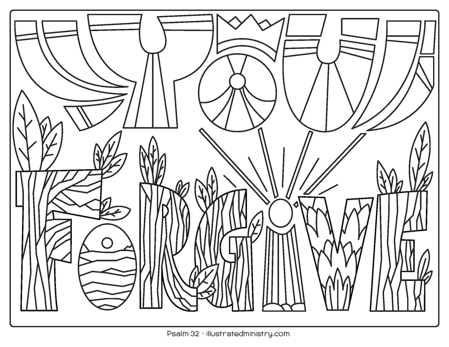 Bible Story Coloring Pages: Spring 2020