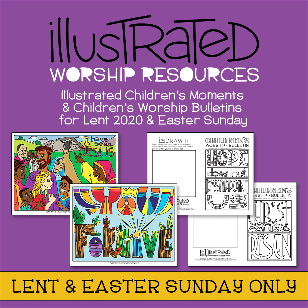 Illustrated Worship Resources: Lent 2020