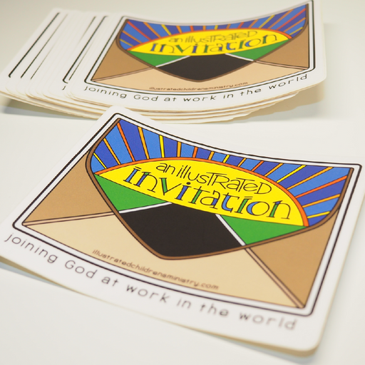 Illustrated Invitation Stickers