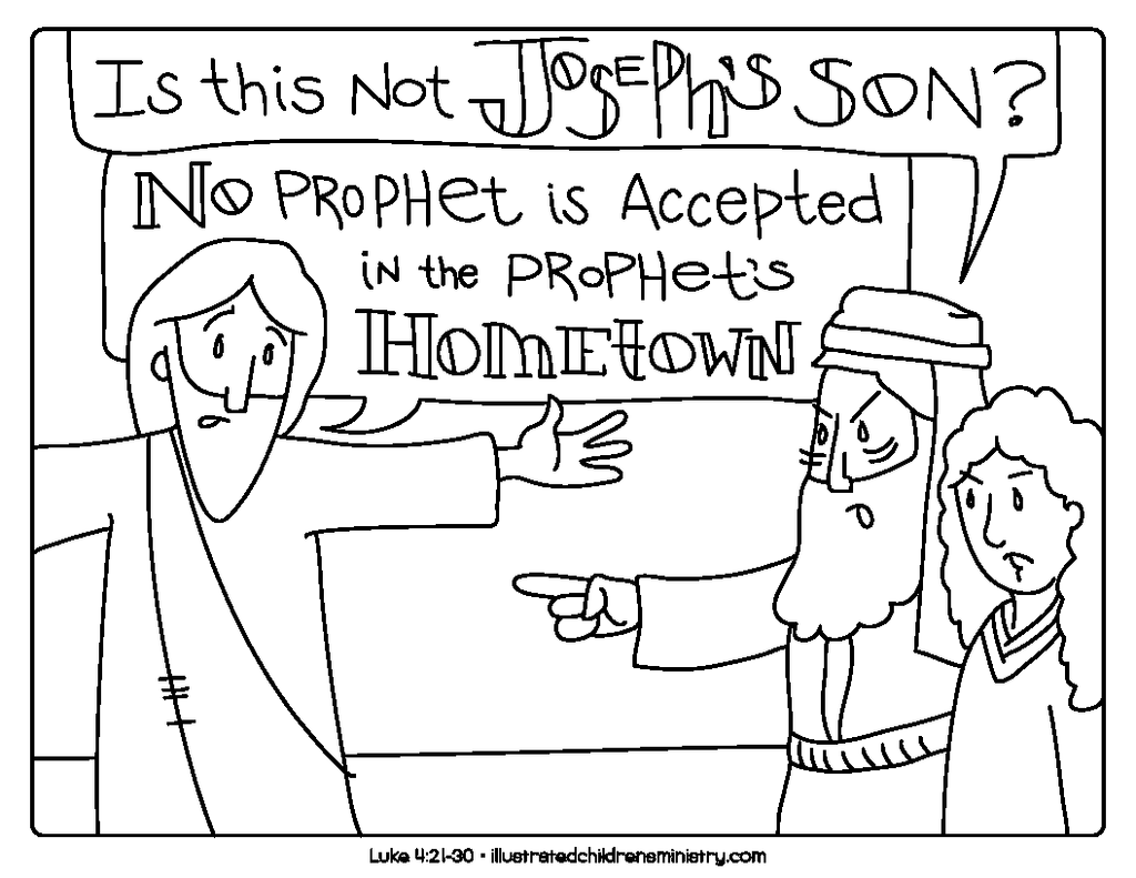 Bible story coloring pages winter 2018 2019