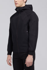 Milo Hooded Jacket – Black