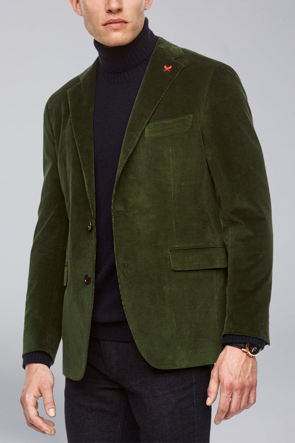 Augustus Contemporary Fit Sport Coat - Olive - Sportcoats - Cardinal of Canada-US-Augustus Contemporary Fit Sport Coat - Olive