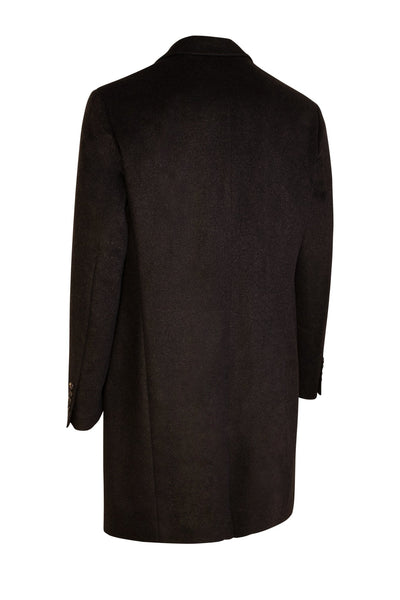 Charcoal Saint-Pierre Pure Cashmere Overcoat - Cardinal of Canada-US