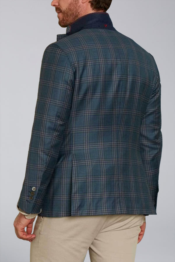 Dylan Sartorial Sport Coat - Washed Green Plaid