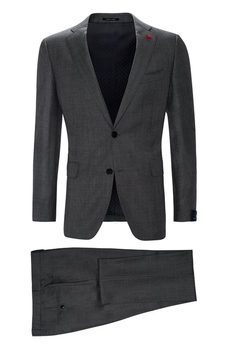 Gray Westbury Contemporary Tailored Wool Suit - Cardinal of Canada-US
