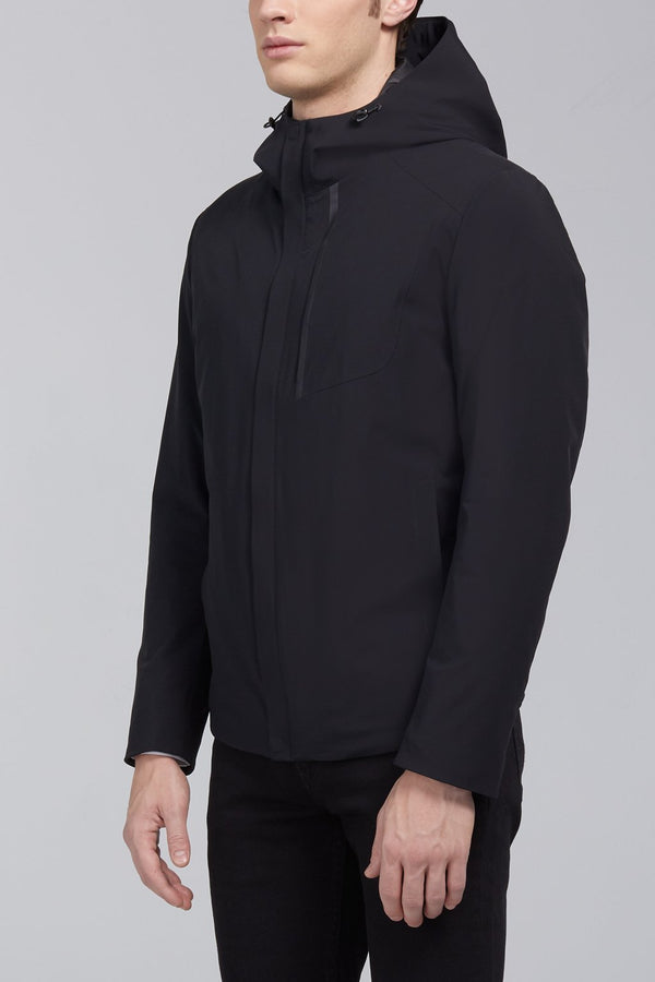 Mauro Modern Fit Down Jacket - Black - Down Jackets - Cardinal of Canada-US-Mauro Modern Fit Down Jacket - Black