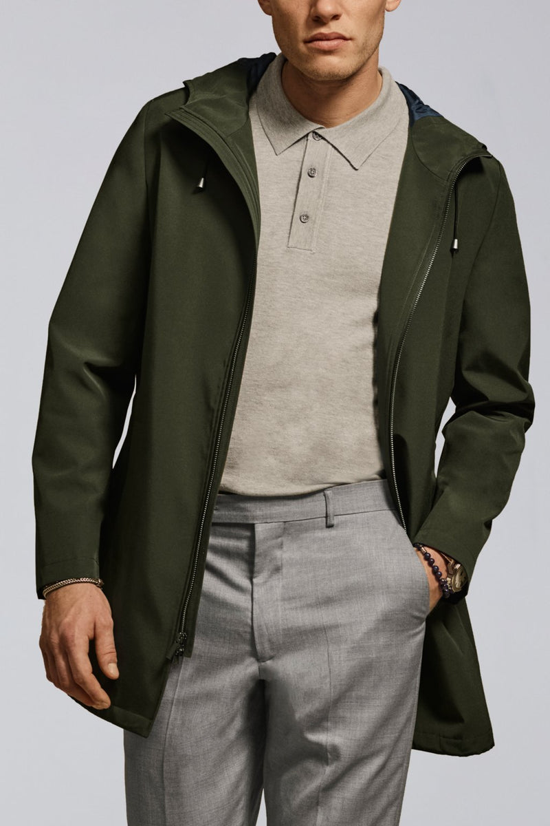 Max Rain Parka – Army Green - Raincoats - Cardinal of Canada-US-Max Rain Parka – Army Green