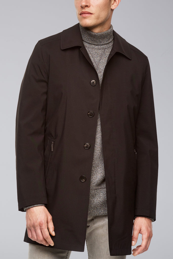 Black McCord Classic Fit Performance Raincoat