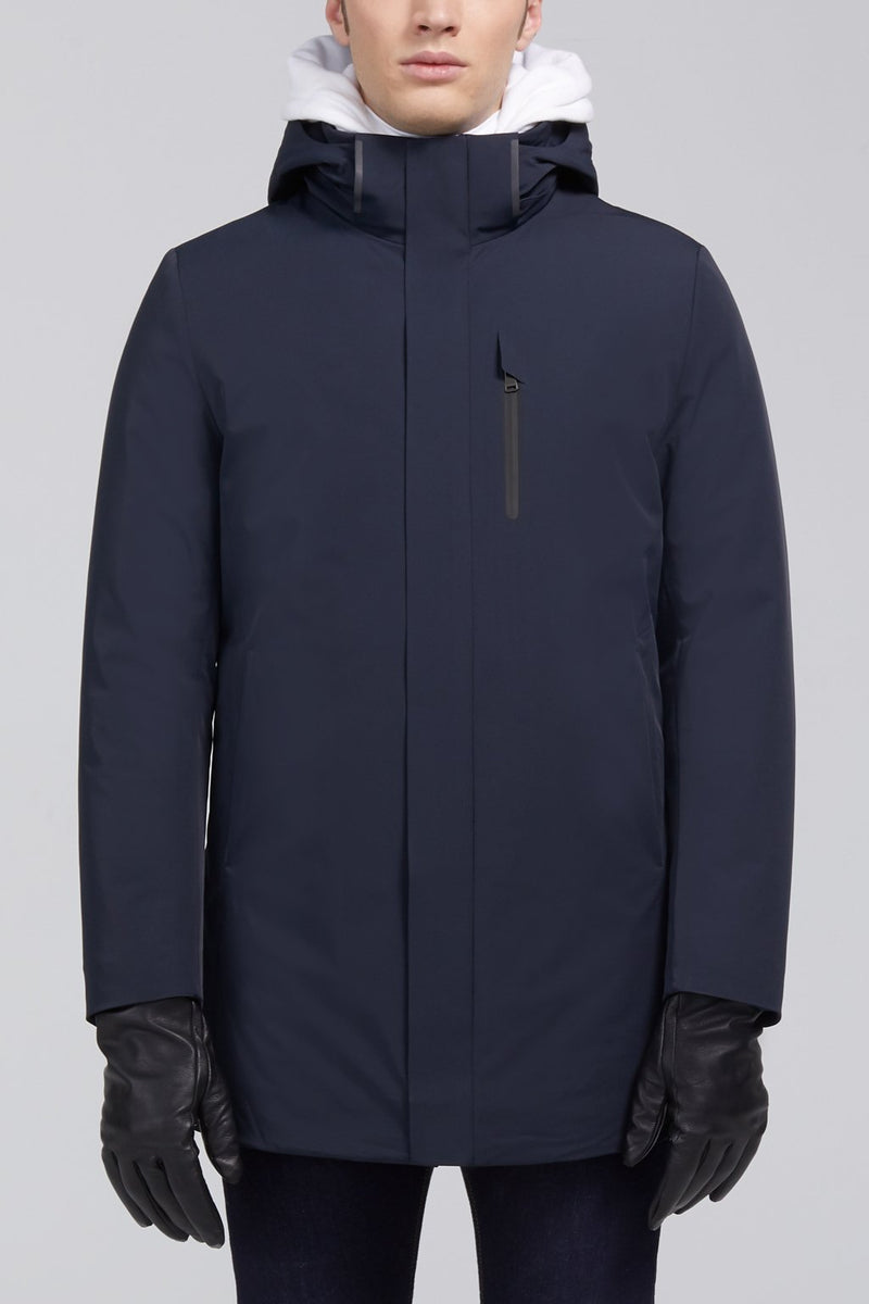Micah Downfill Coat - Navy - Down Jackets - Cardinal of Canada-US-Micah Downfill Coat - Navy
