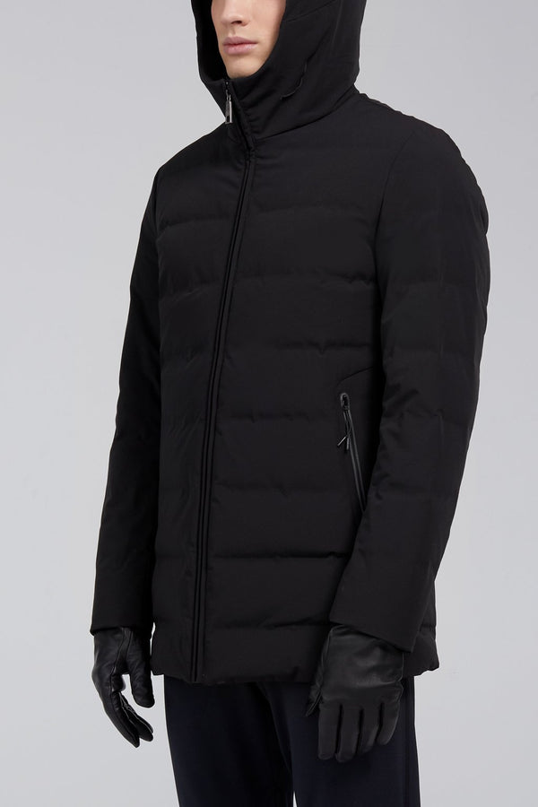 Myles Downfill Coat - Black - Down Jackets - Cardinal of Canada-US-Myles Downfill Coat - Black