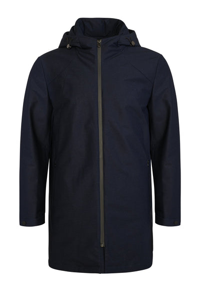 Navy Melange McRae Downfill Coat - Cardinal of Canada-US