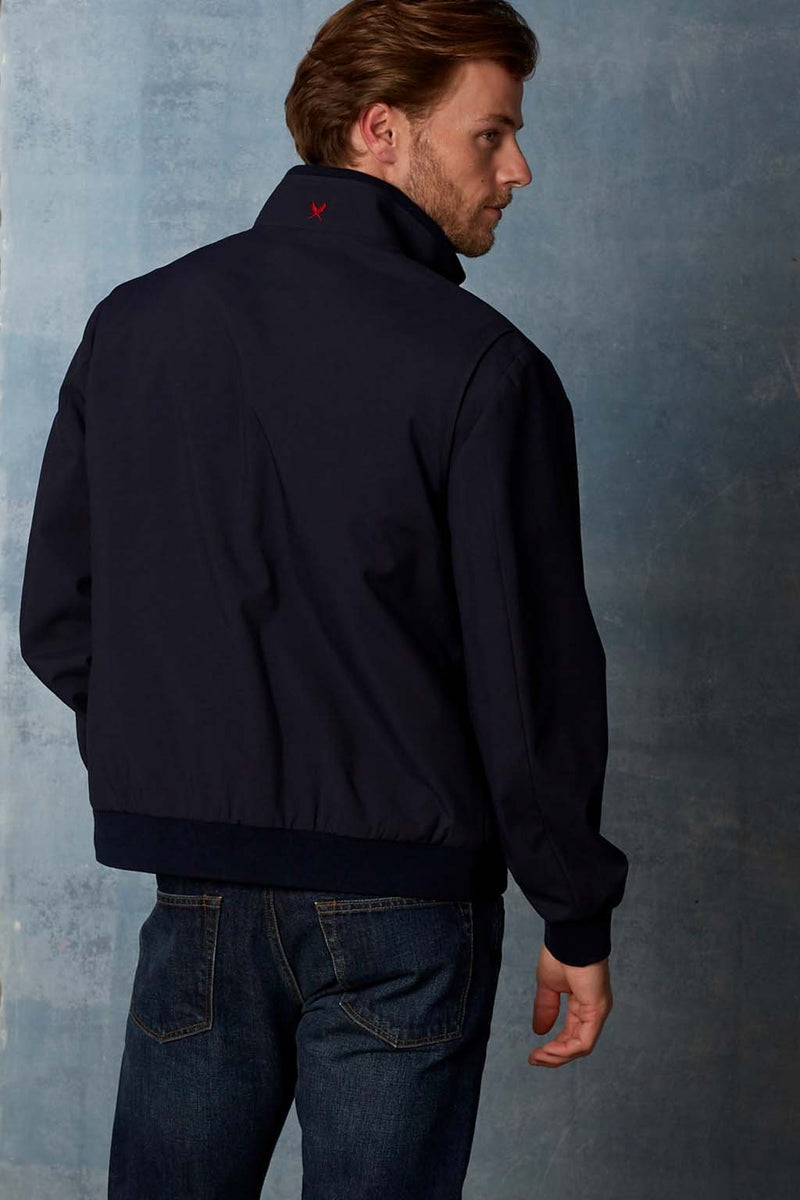 Navy Nolan Water-Repellent Bomber - Cardinal of Canada-US
