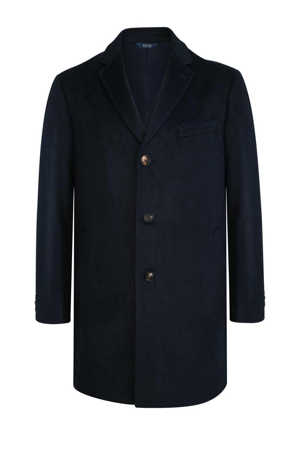 Navy Saint-Paul Cashmere Wool Heritage Overcoat - Cardinal of Canada-US