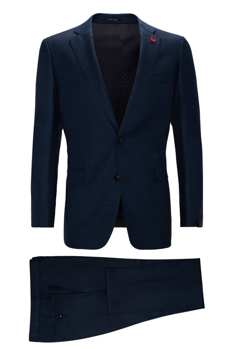 Navy Westbury Contemporary Tailored Wool Suit - Cardinal of Canada-US