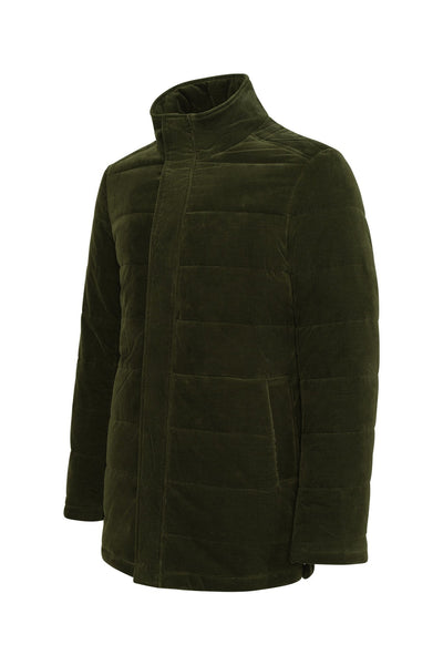Olive Manson Regular Fit Car Coat - Cardinal of Canada-US