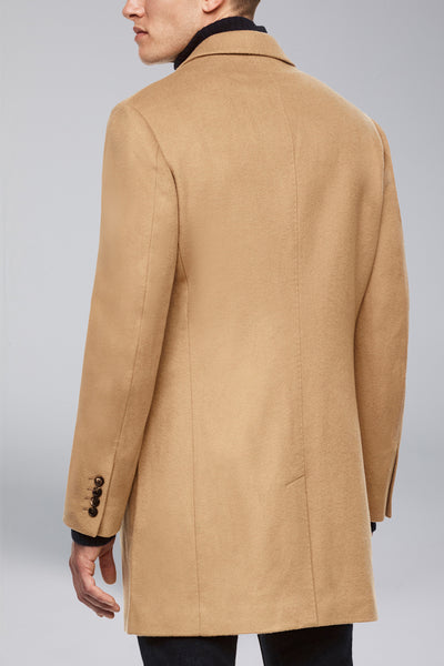 Camel Saint-Paul Cashmere Wool Heritage Overcoat