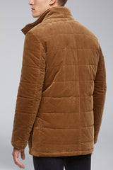 Manson Regular Fit Car Coat - Tobacco