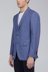Ashton Multi Check Classic Fit Sport Coat - Light Blue - Cardinal of Canada-CA - Ashton Multi Check Classic Fit Sport Coat - Light Blue