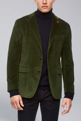 Augustus Contemporary Fit Sport Coat - Olive - Sportcoats - Cardinal of Canada-CA - Augustus Contemporary Fit Sport Coat - Olive