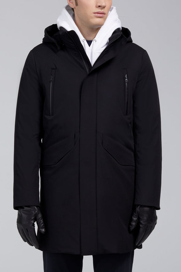 Marco Down Fill Coat - Black - Down Jackets - Cardinal of Canada-CA - Marco Down Fill Coat - Black