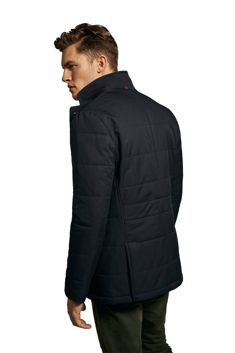 Navy Whelan Light-Weight Quilted Sports Coat - Sportcoats - Cardinal of Canada-CA - Navy Whelan Light-Weight Quilted Sports Coat