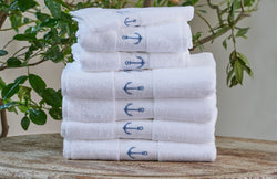 Anchor Towels by Traditions Linens