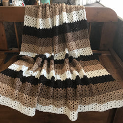Crocheted Throw Blanket
