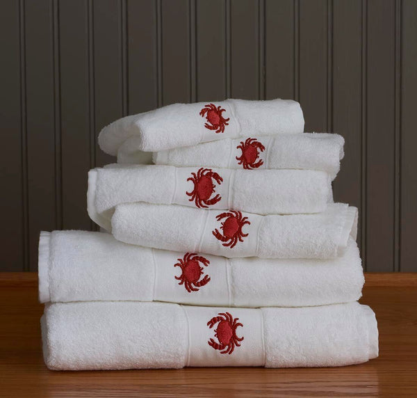 Crab Towels by Traditions Linens