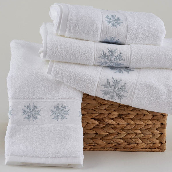 Snowflake Towels by Traditions Linens
