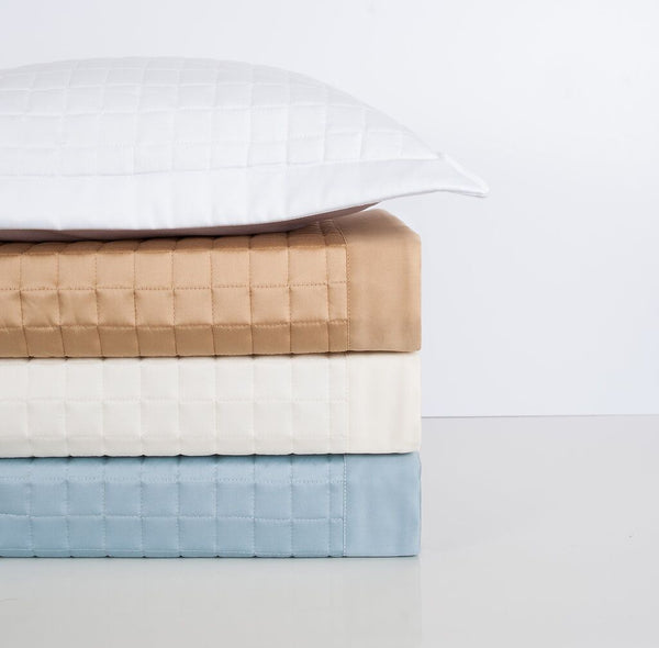 Time Square Quilted Coverlet and Shams