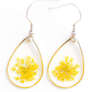 ORB CLEO EARRINGS YELLOW