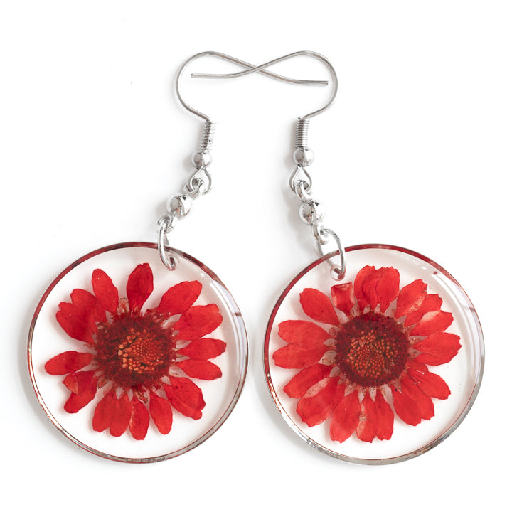 ORB FUNKY EARRINGS RED