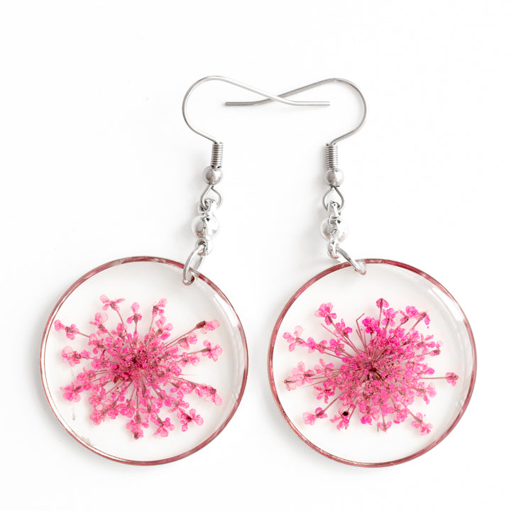 ORB FUNKY EARRINGS PINK