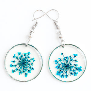 ORB FUNKY EARRINGS BLUE