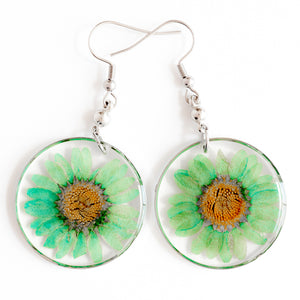 ORB FUNKY EARRINGS GREEN