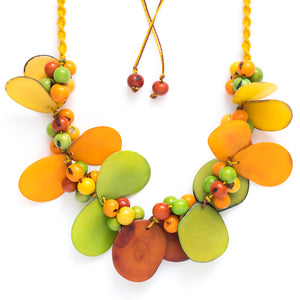 Multicolor Tagua Necklace